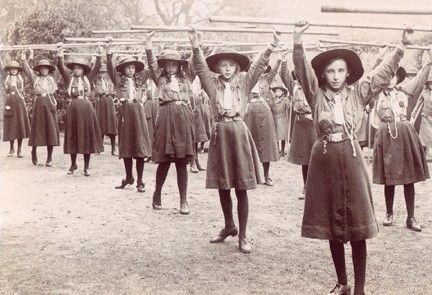 1917 Girl Guide Uniform Miscellaneous Skirts.