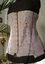 1918 Berlei Australian corset with elasticated sides.