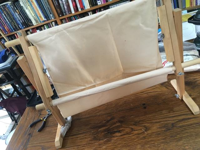 Tapestry Frame setup