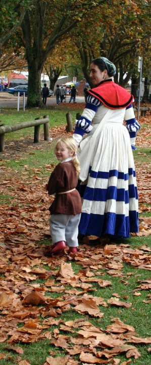 Homemade costumes, step-by-step.